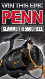 Win this EPIC PENN Slammer III 5500 reel!