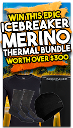 Win this Epic Icebreaker Merino Thermal Bundle