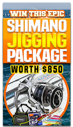 Win a Shimano Jigging Package!