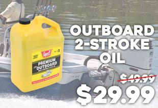 Super S Outboard 2-Stroke Oil 3.78L