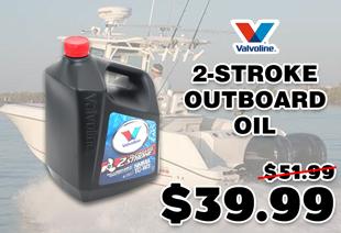Valvoline 2-Stroke TC-W3 Outboard Oil 4L