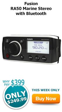 Fusion RA50 Marine Stereo with Bluetooth