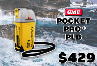 GME Pocket Pro+ Personal Locator Beacon PLB MT410G 406MHz with GPS Manual Activation