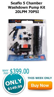 Seaflo 5 Chamber Washdown Pump Kit 20LPM 70PSI