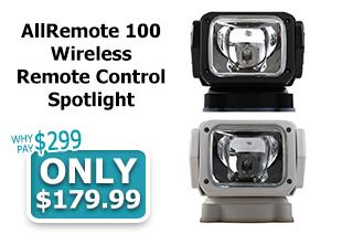 AllRemote 100 Wireless Remote Control Spotlight