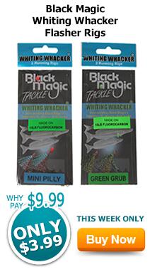 Black Magic Whiting Whacker Flasher Rigs