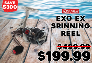 Quantum EXO EX 30PTI Spinning Reel