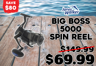 Jarvis Walker Big Boss 5000 Spinning Reel