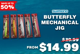 Shimano Butterfly Flat-Side Mechanical Jig