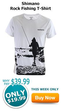 Shimano Rock Fishing T-Shirt