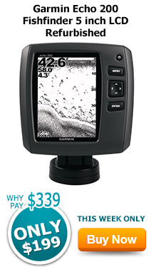 Garmin Echo 200 Fishfinder 5 inch LCD Refurbished