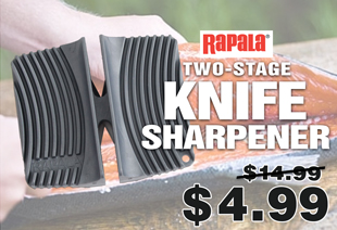 Rapala Two-Stage Ceramic Knife Sharpener Coarse and Fine