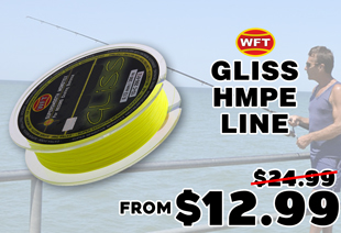 WFT Gliss HMPE Line Yellow