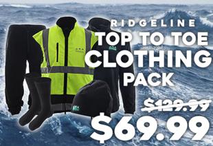 Ridgeline Top to Toe 5 Piece Tradies Clothing Pack