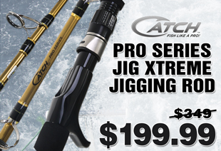 Catch Pro Series Jig Xtreme Jigging Rod 5ft 250g