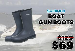 Shimano Evair Rubber Boat Gumboots