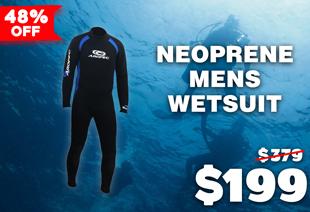 Aropec Neoprene Mens Wetsuit 5mm