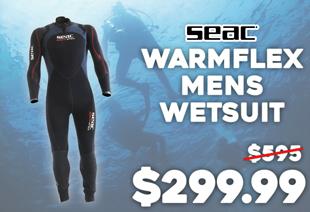 Seac Warmflex Plus Mens Wetsuit 7mm