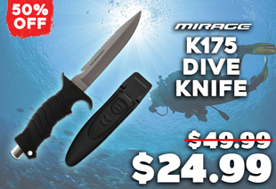 Mirage K175 Samoa Hammer Dive Knife