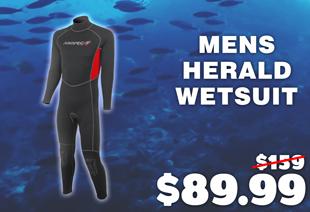 Aropec Mens Herald Wetsuit 1.5mm