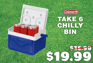 Coleman Take 6 Personal Polylite Chilly Bin Cooler 5L