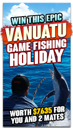 Win an Epic game fishing holiday for you & 2 mates!