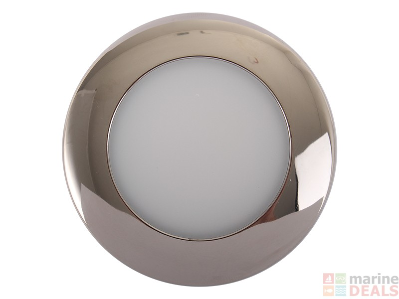 mount led ceiling light with frosted lens online at marine