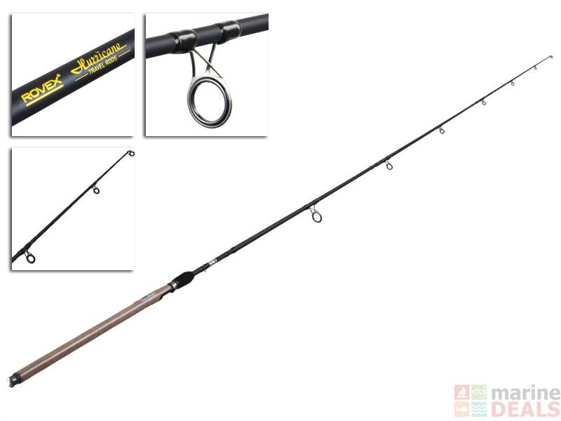 Buy rovex hurricane sp3004h travel rod 10ft 10 50g 4pc for Hurricane fishing rods