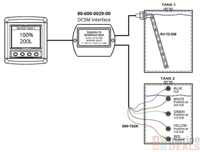 buy bep mon sys dcsm tank probe interface online at marine