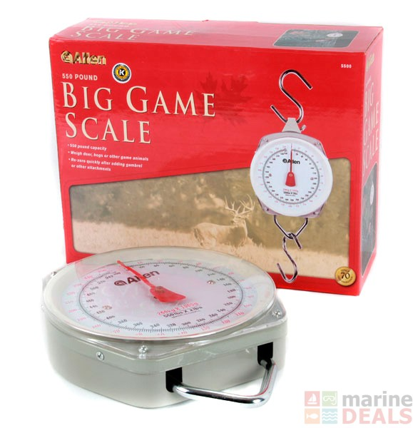Buy allen sportsman weighing scale 250kg online at marine for Does tuna fish have scales