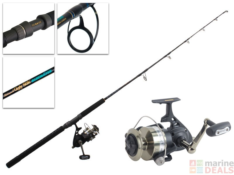 Buy fin nor offshore 7500 and ugly stik bluewater jig for Tuna fishing rod and reel combos