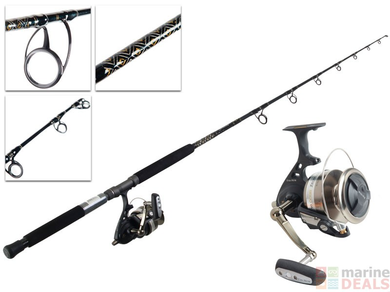 Buy fin nor offshore of9500 and fns7050 rod and reel combo for Tuna fishing rod and reel combos
