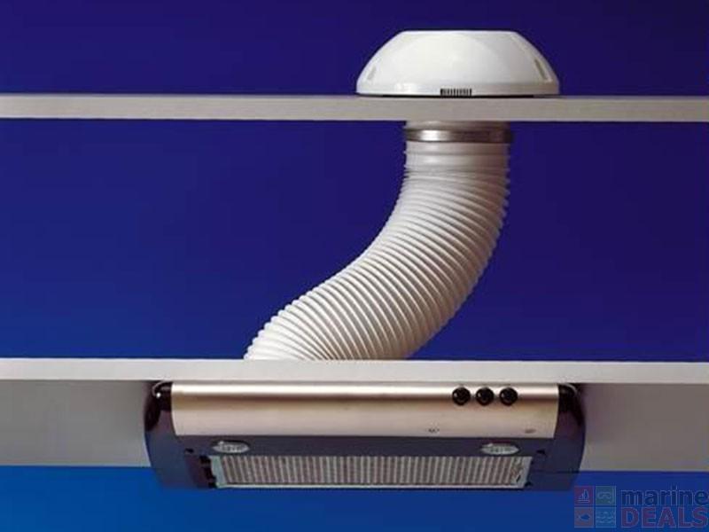 Buy dometic ck155 built in exhaust air cooker hood with 2 for Cooktop with built in exhaust fan