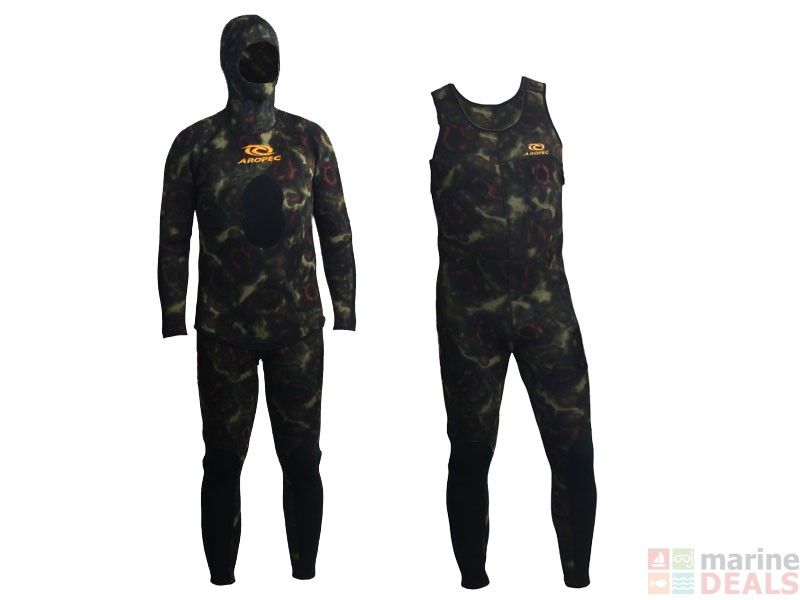 Buy Aropec Open Cell Camouflage Mens Spearfishing Wetsuit