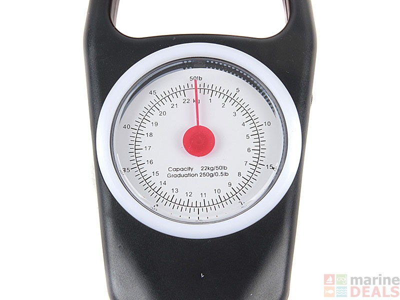 Buy fish weighing scale 50lb online at marine for Fish weight scale