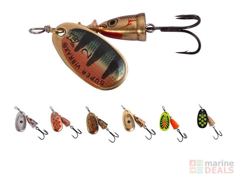 Buy blue fox vibrax mid depth lure online at marine deals for Blue fox fishing lures