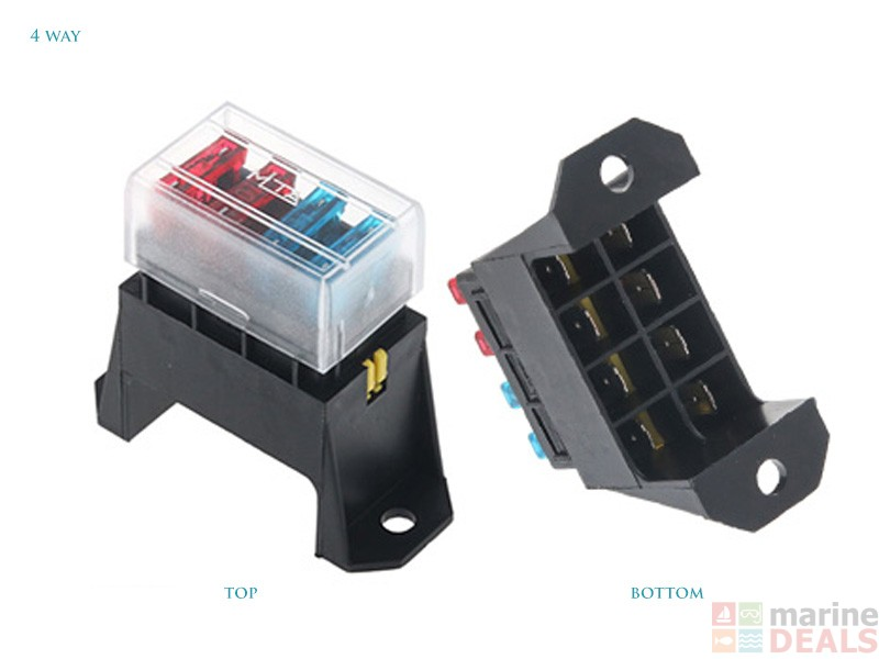 buy hella marine blade fuse box standard ats fuses at marine deals co nz