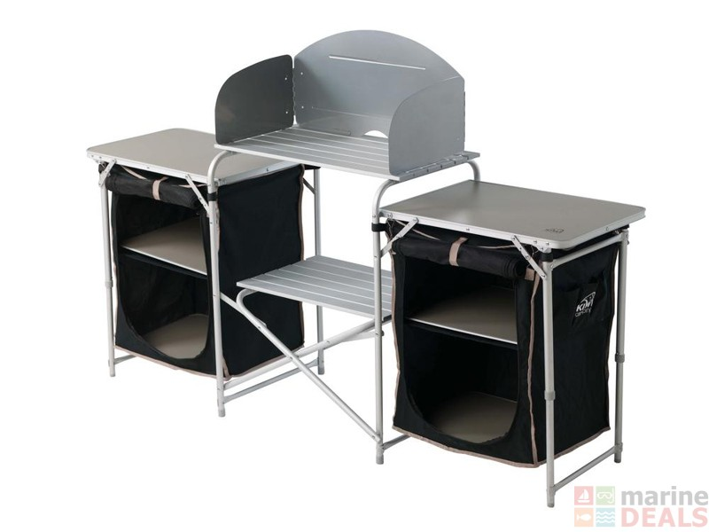 Buy Kiwi Camping Kitchen and Cupboards 1720 x 700/790 x 460mm online ...