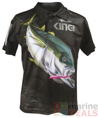 Buy mad about fishing kingfish polo shirt 4xl online at for 4xl fishing shirts