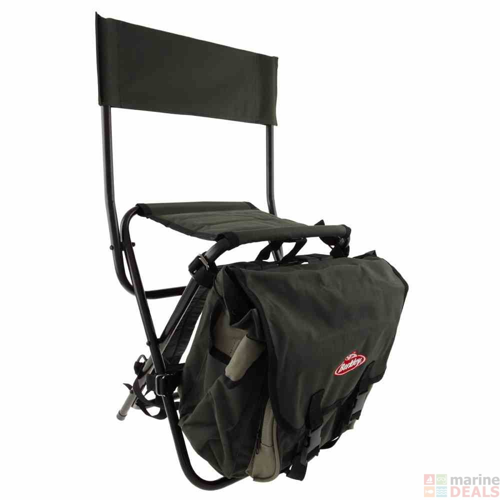Backpack fishing chair - Berkley Fishing Stool And Backpack