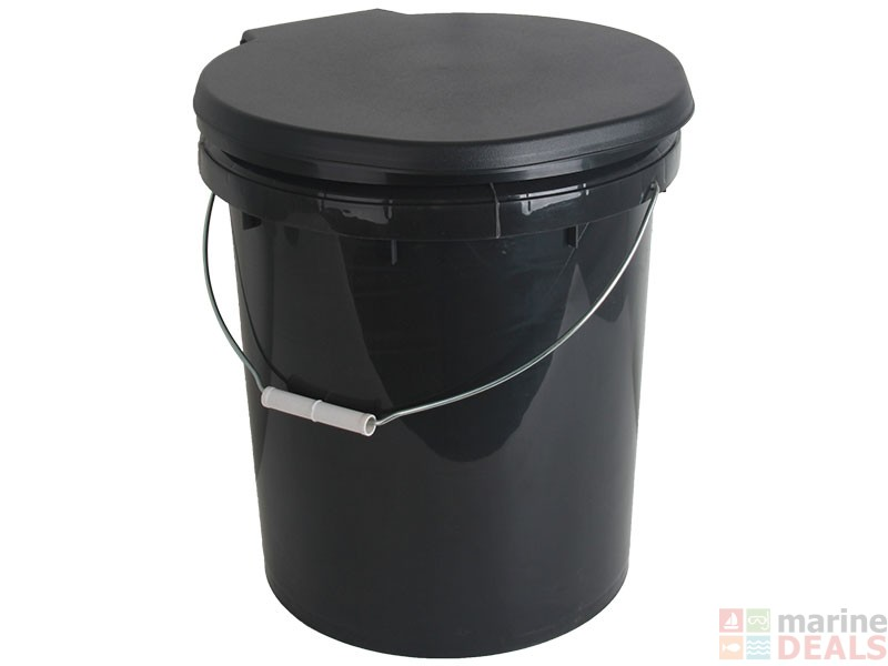 Buy Toilet Bucket With Seat Online At Marine Deals Co Nz