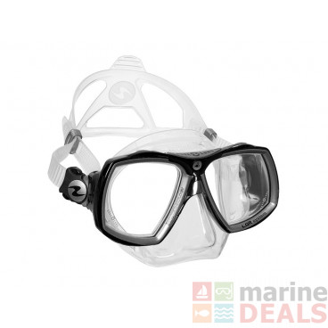 Aqualung Look 2 Midi Dive Mask Clear Silver