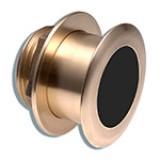 Garmin Bronze Tilted Thru-hull Transducer with Depth and Temperature (12deg tilt/8-pin) - Airmar B164