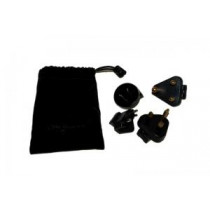 Iridium 4-Piece International Plug Kit for 9500/9505