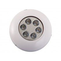 Surface Mount 6 x 3W LED Underwater Light Blue