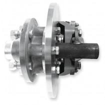 Trojan Cast Iron Disc Brake Hub and Stub Kit 1750kg 5 x 4-1/2in x 1/2in