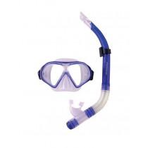 Mirage Freedom Silicone Mask and Snorkel Set Dark Blue