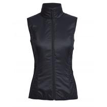 Icebreaker Womens MerinoLOFT Helix Vest Black
