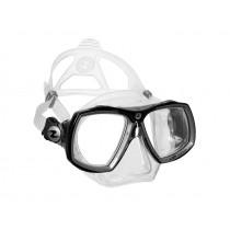 Aqualung Look 2 Midi Dive Mask Clear Silver