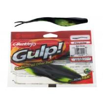 Berkley Gulp Soft Bait Jerkshad Black Catalpa 5in Qty 5